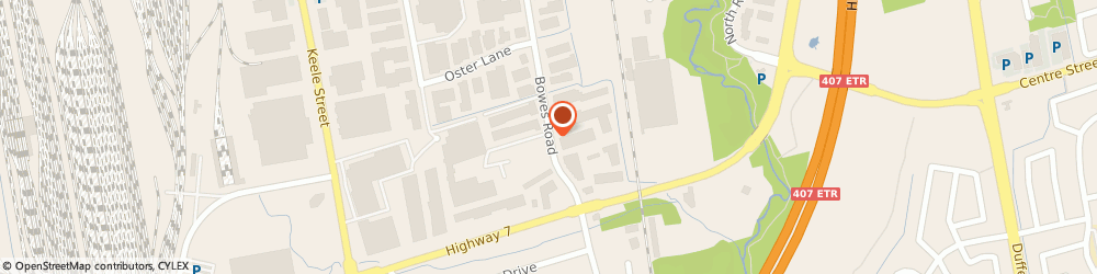 Route/map/directions to Taking IT Mobile Data Solutions, L4K 1J7 Concord, 96 Bowes Road, Suite 3
