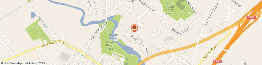Route/map/directions to David R Gardner - Ameriprise Financial Services, LLC, 04096 Yarmouth, 45 Forest Falls Dr