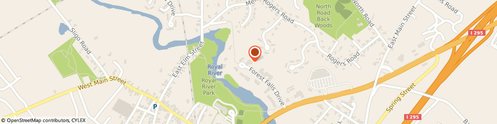 Route/map/directions to Jane Rice - Ameriprise Financial Services, LLC, 04096 Yarmouth, 45 Forest Falls Dr
