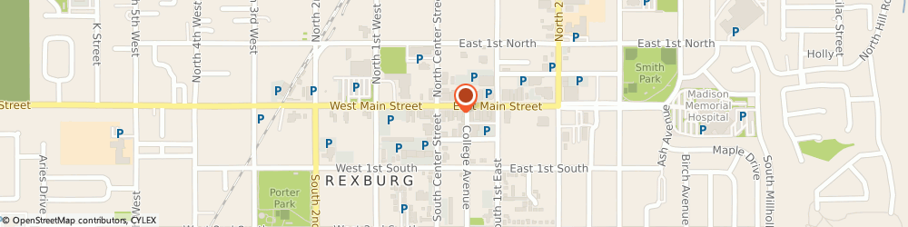 Route/map/directions to MY-PC-ER, 83440 Rexburg, 20 E Main St