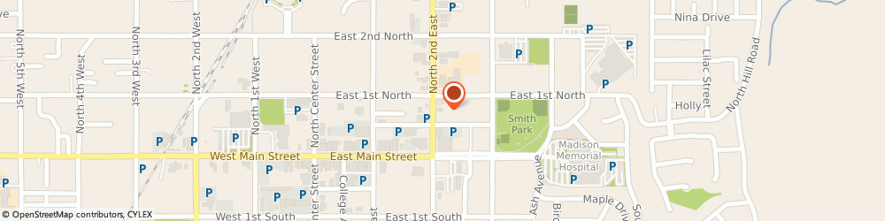 Route/map/directions to Papa Murphy's, 83440 Rexburg, 64 North 2Nd East