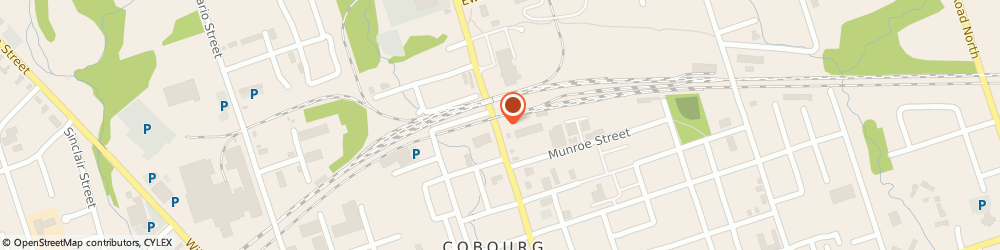 Route/map/directions to Legacy Building Supply, K9A 3S4 Cobourg, 540 Division St