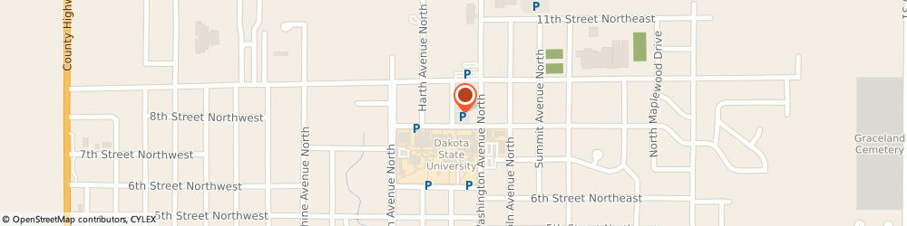 Route/map/directions to Church Of Jesus Christ Of Latter-Day Saints, 57042 Madison, 927 NORTH LEE AVENUE
