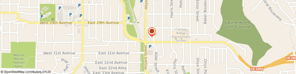 Route/map/directions to KeyBank Eugene, 97405 Eugene, 2995 Hilyard St