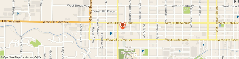 Route/map/directions to Navy Federal Credit Union, 97402 Eugene, 1155 Chambers St