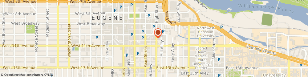 Route/map/directions to Navy Federal Credit Union ATM, 97401 Eugene, 1050 High St