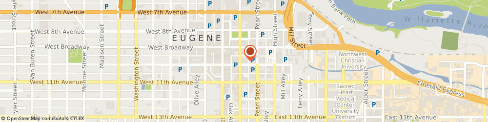Route/map/directions to KeyBank Eugene, 97401 Eugene, 975 Oak St