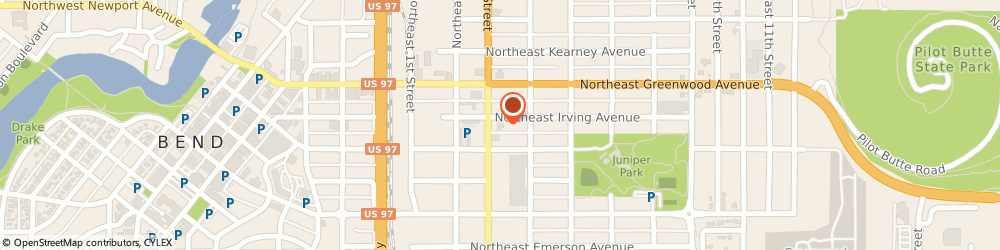 Route/map/directions to Wells Fargo Bank, 97701 Bend, 844 NE 3rd St