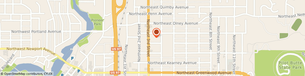 Route/map/directions to Ricos Taco, 97701 Bend, 1326 NORTHEAST 3RD STREET