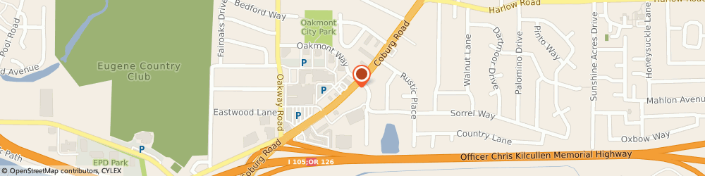 Route/map/directions to US BANK, 97401 Eugene, 311 COBURG ROAD