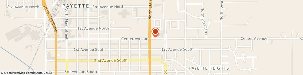 Route/map/directions to K & K Bail Bonds, 83661 Payette, 808 3rd Ave North