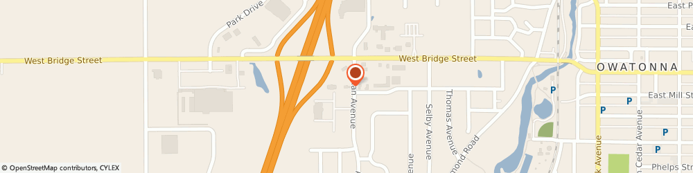 Route/map/directions to Arby's, 55060-2766 Owatonna, 136 Allan Ave SW