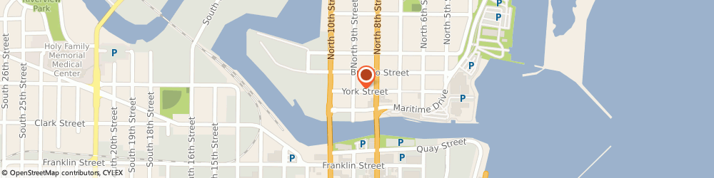 Route/map/directions to Greatest Gift, 54220 Manitowoc, 822 York St