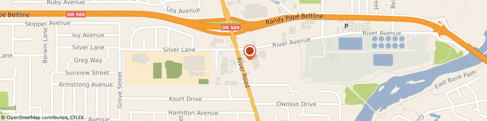 Route/map/directions to Wells Fargo Bank, 97404 Eugene, 2065 River Rd