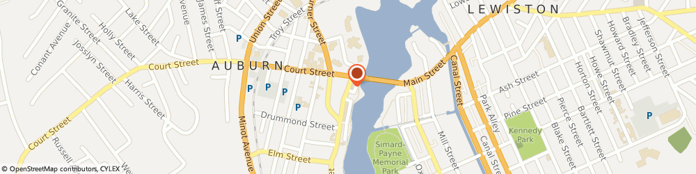 Route/map/directions to New England Financial - a Metlife Company, 04210 Auburn, 74 Main St