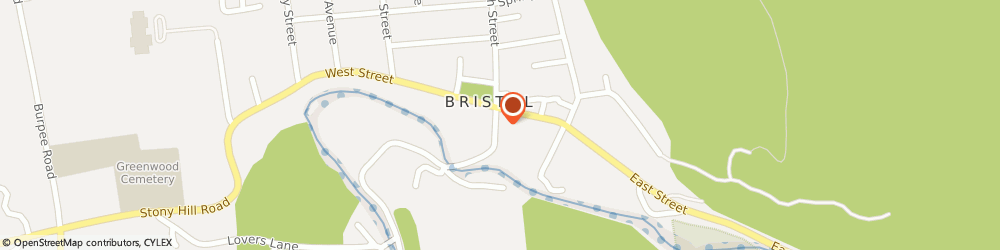 Route/map/directions to Safeco Insurance Agent, 05443-1217 Bristol, 2 South St