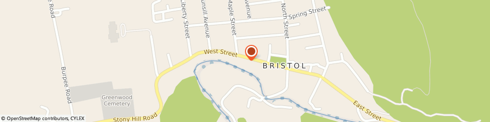 Route/map/directions to Safeco Insurance Agent, 05443-1227 Bristol, 35 West St