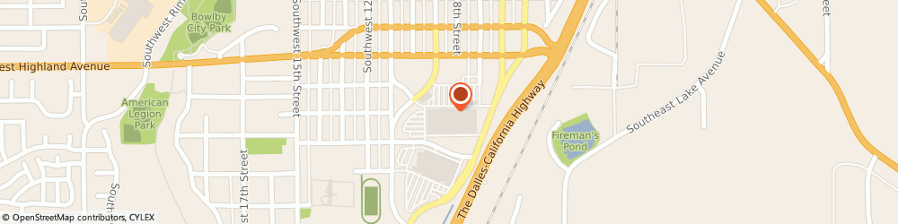 Route/map/directions to Baskin-Robbins, 97756 Redmond, 944  SW VETERANS WAY