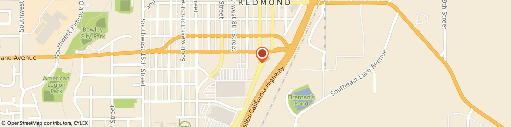 Route/map/directions to Safeco Insurance Agent, 97756-3102 Redmond, 847 Sw 6Th St