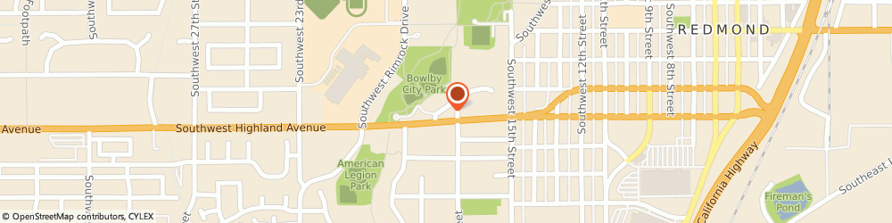 Route/map/directions to Aveda Partner, 97756-2543 Redmond, 1730 Sw Parkway Dr