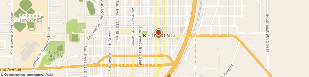 Route/map/directions to STATE FARM Brian Elder, 97756 Redmond, 515 Sw 6Th St