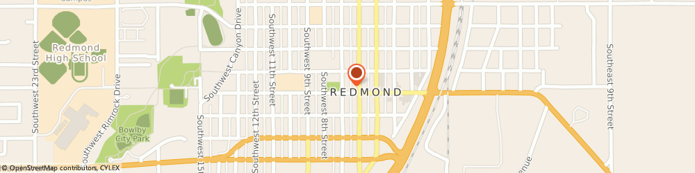 Route/map/directions to Farmers Insurance Group, 97756 Redmond, 446 SW 7TH ST