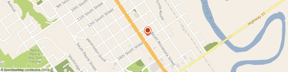 Route/map/directions to Navy Federal Credit Union, 56073 New Ulm, 1521 South Broadway