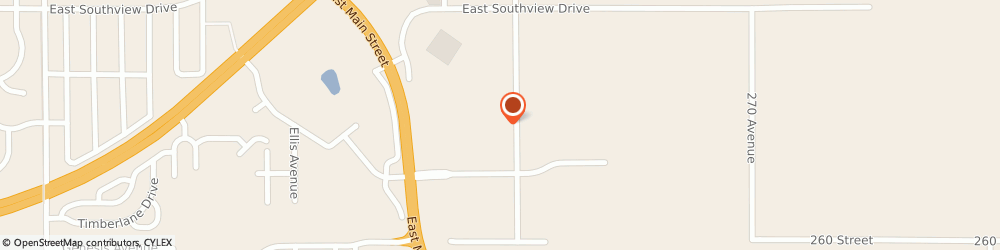 Route/map/directions to H & r Block, 56258 Marshall, 1221 E Main St