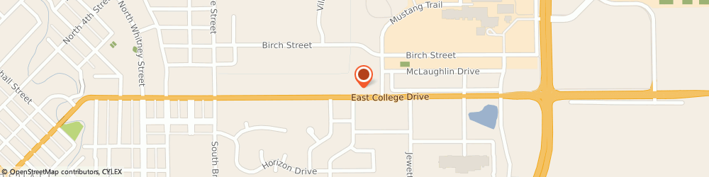Route/map/directions to H&R Block, 56258 Marshall, 1307 E College Dr