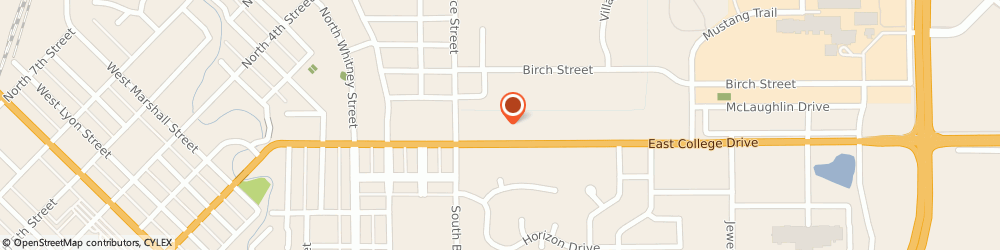 Route/map/directions to Great Clips, 56258 Marshall, 1113 E College Dr