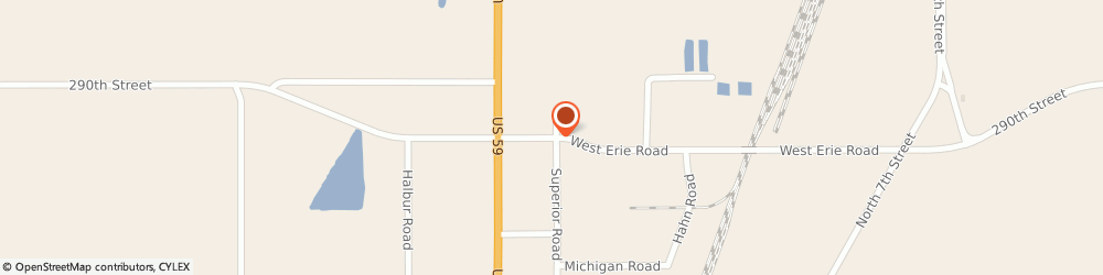 Route/map/directions to Fastenal, 56258 Marshall, 702 Erie Road