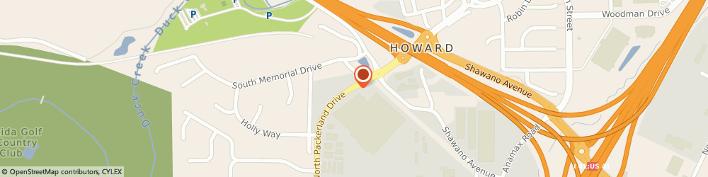 Route/map/directions to Thompson Homes, Inc., 54303 Green Bay, 2652 N Packerland Dr