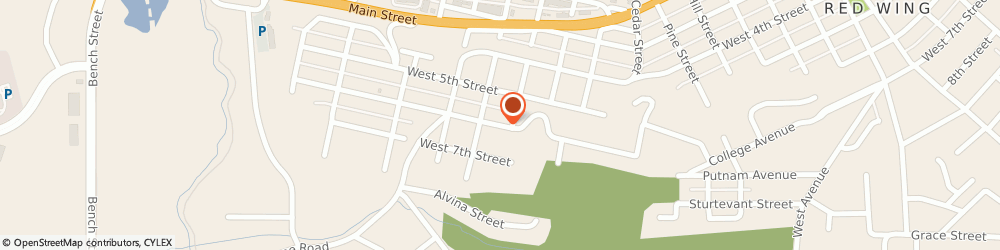 Route/map/directions to Haines on Carpet Cleaning, 55066 Red Wing, 1514 WEST 6TH STREET