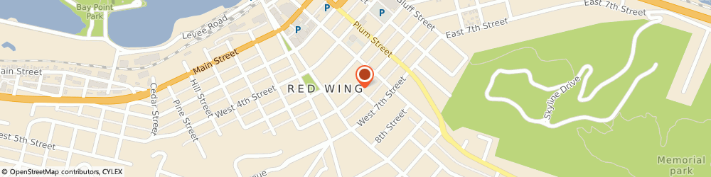 Route/map/directions to Red Wing City - Police Department, 55066 Red Wing, 430 WEST 6TH STREET