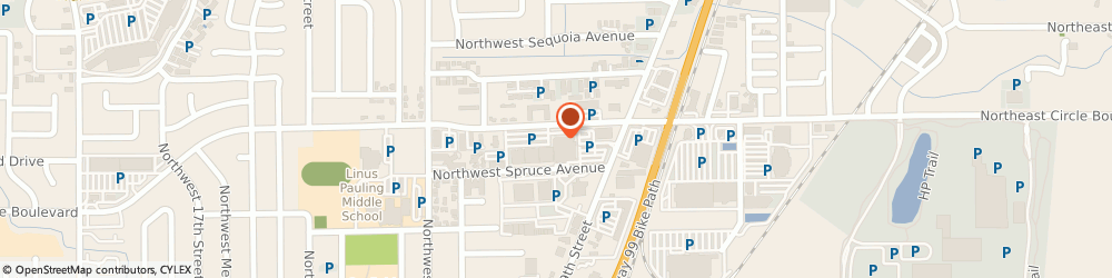Route/map/directions to The UPS Store, 97330 Corvallis, 922 NW Circle Blvd