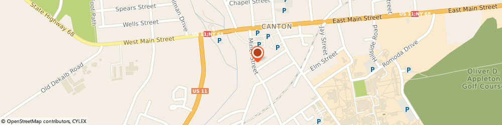Route/map/directions to Canton Ace Hardware, 13617 Canton, 34 Miner St