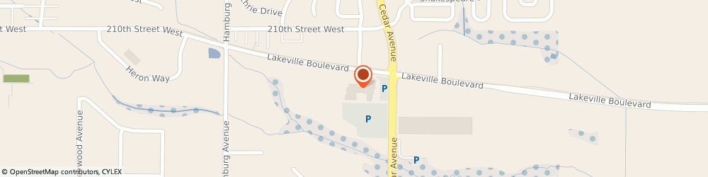 Route/map/directions to Jeff Belzers Chevrolet Incorporated, 55044 Lakeville, 21111 Cedar Avenue