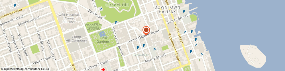 Route/map/directions to MINISO, B3J 3T2 Halifax, 5475 Spring Garden Rd