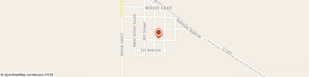 Route/map/directions to Progressive Insurance, 56297 Wood Lake, 17 N 3Rd St