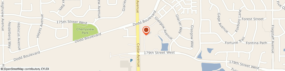 Route/map/directions to Kimberly D. Koch, DDS, 55044 Lakeville, 17597 Cedar Ave