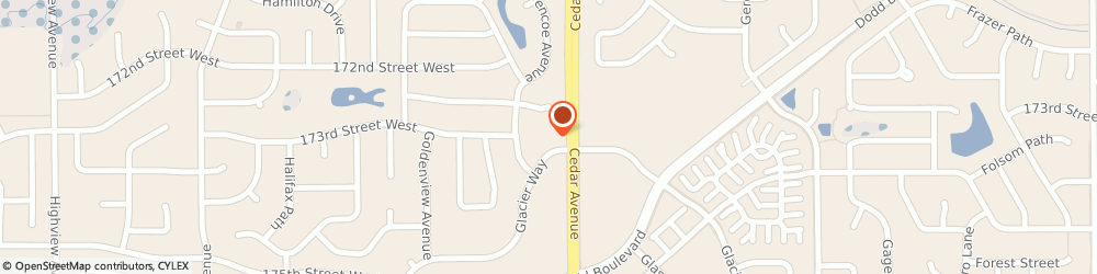 Route/map/directions to Physicans Neck & Back Clinic, 55044 Lakeville, 17305 CEDAR AVE S