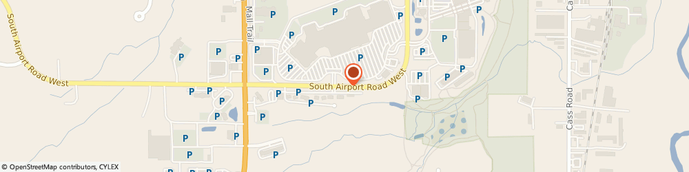 Route/map/directions to Eddie Bauer, 49684 Traverse City, 3200 SW AIRPORT RD STE 230