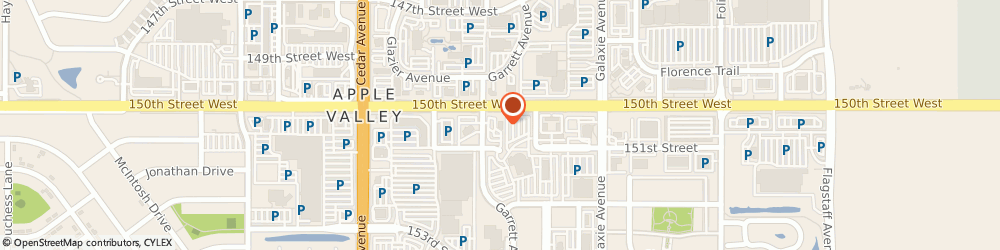 Route/map/directions to Wells Fargo APPLE VALLEY, 55124 Apple Valley, 15020 Garrett Ave