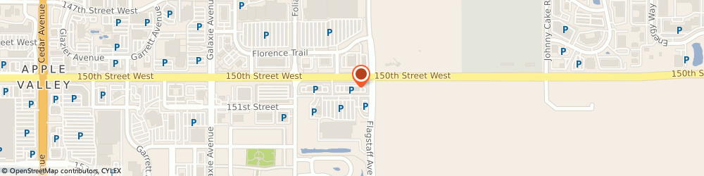 Route/map/directions to ANYTIME FITNESS Apple Valley, 55124 Apple Valley, 6520 150Th St W Ste 100