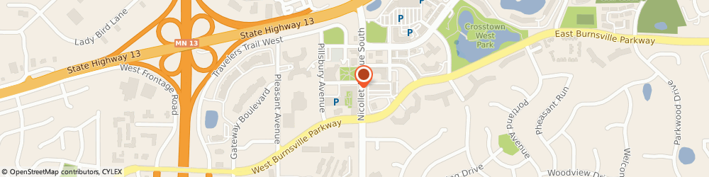 Route/map/directions to Denise Wagner - Thrivent, 55044 Burnsville, 12700 Nicollet Avenue