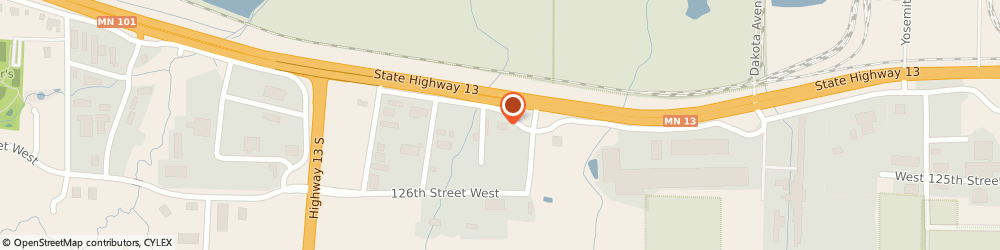 Route/map/directions to Tarps Inc, 55378 Savage, 7329 W. Hwy 13