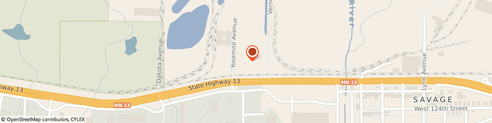 Route/map/directions to Koch Materials Company, 55378 Savage, 12101 Yosemite Ave S