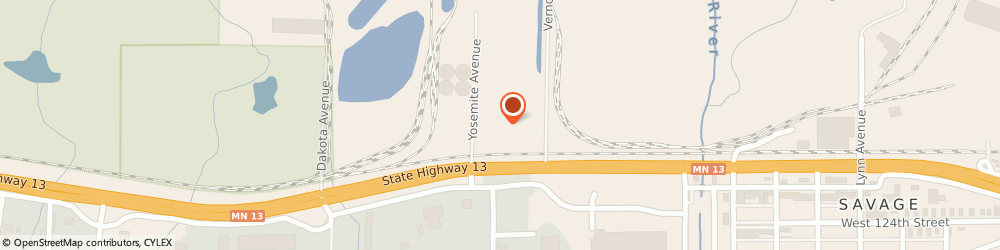 Route/map/directions to Richard Asphalt Company, 55378 Savage, 12101 YOSEMITE AVENUE SOUTH
