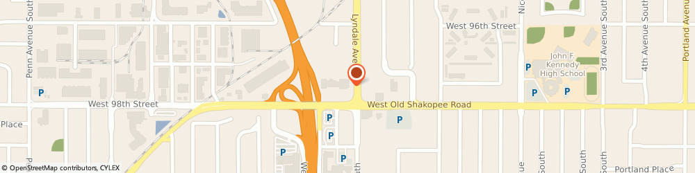 Route/map/directions to Starbucks Coffee, 55420 Minneapolis, 704 WEST 98TH STREET
