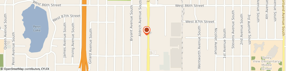 Route/map/directions to Minuteman Press, 55420 Bloomington, 8742 Lyndale Avenue South